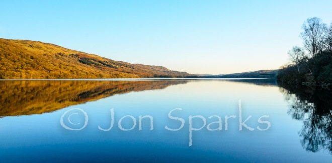 'Towards the lower, southern end of the lake'. This is Coniston Water