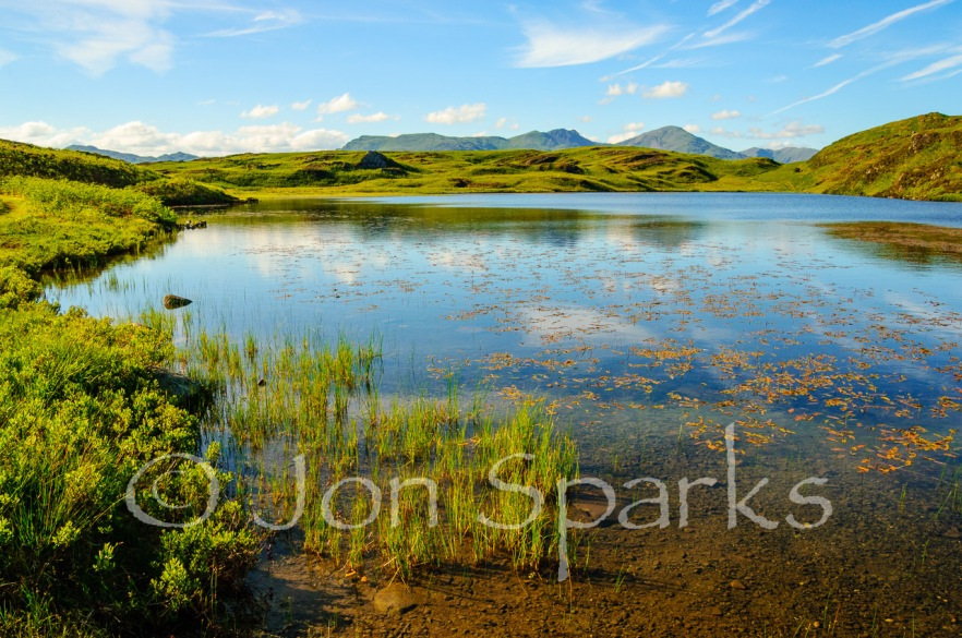 Beacon Tarn – probably the model for Trout Tarn