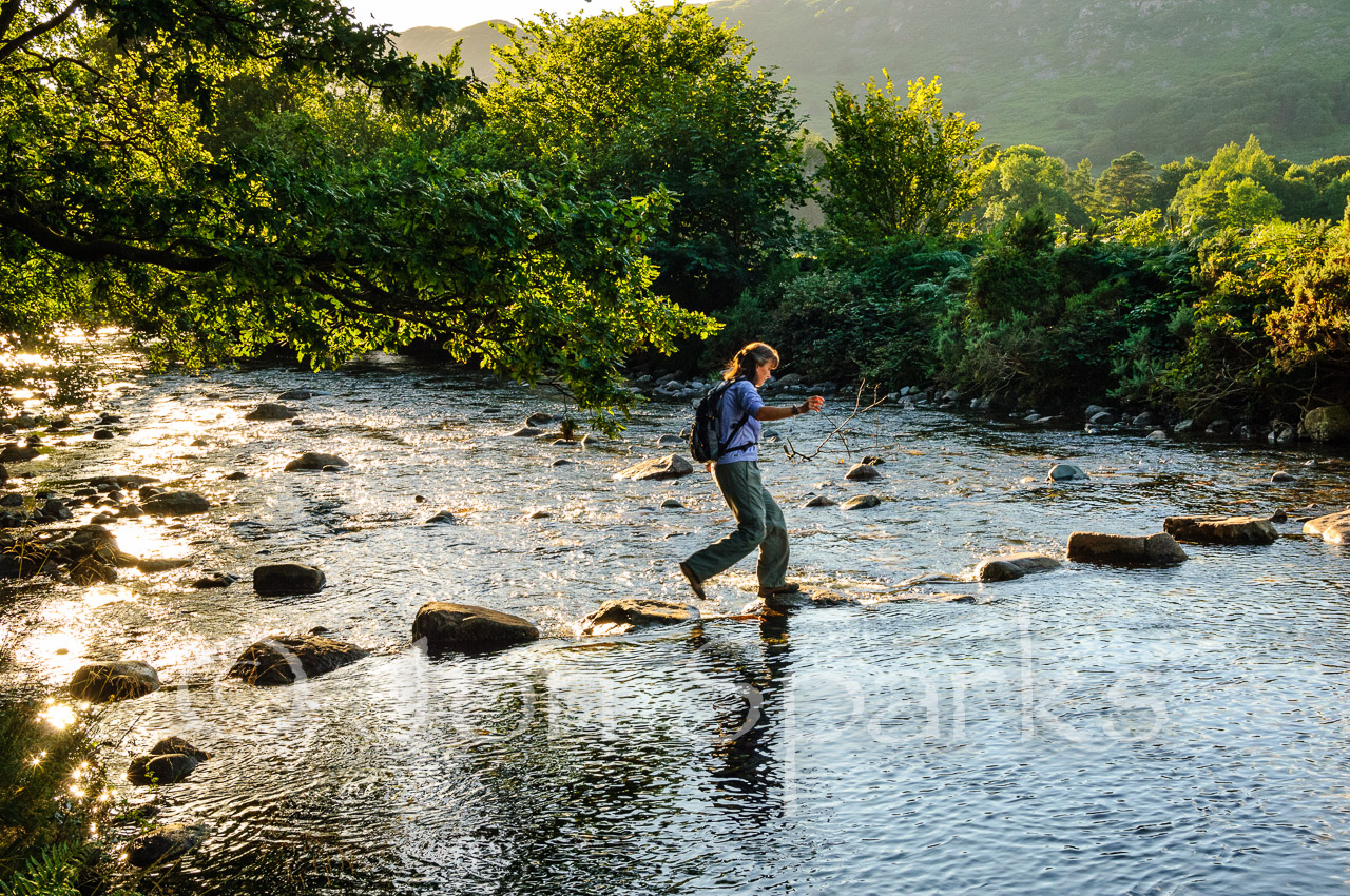 Stepping Stones, Eskdale. Not really Ransome country, but sometimes it's the spirit that matters...