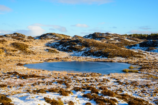 Arnsbarrow Tarn.