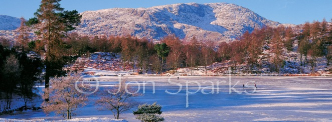 Ice on Tarn Hows, Lake District