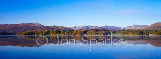 Windermere autumn morning